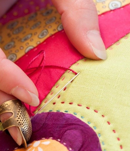 Техники лоскутного шитья подушки